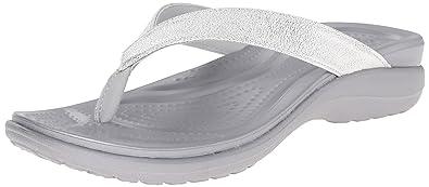 f58e3f2a6e620 crocs Women s Capri V Shimmer W Flip-Flop