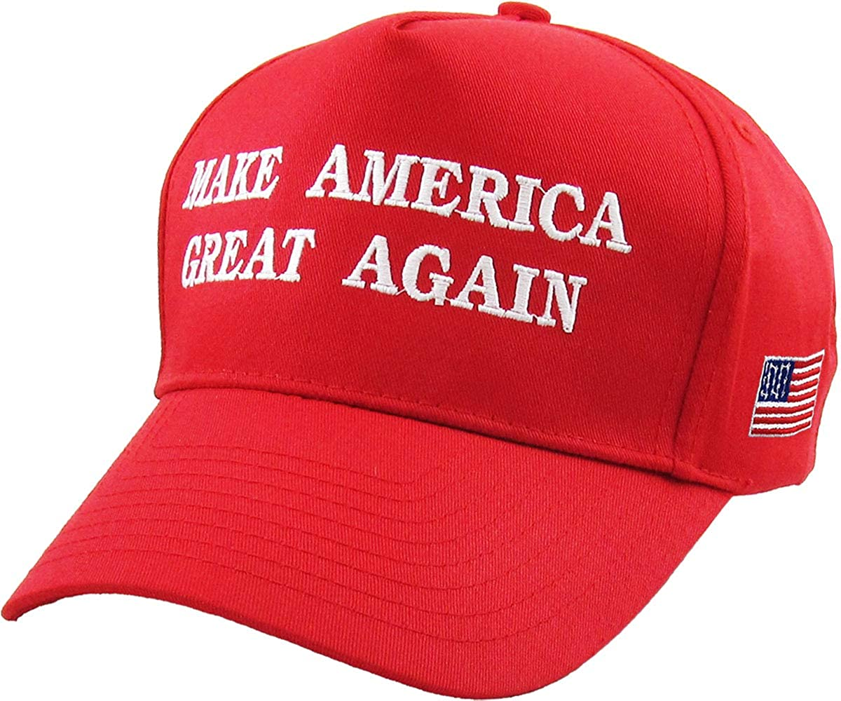 12db1e40257 Make America Great Again - Donald Trump 2016 Campaign Cap Hat (002) Red at  Amazon Men s Clothing store