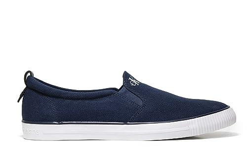 Calvin Klein Armand Canvas, Zapatillas Bajas para Hombre: Amazon.es: Zapatos y complementos