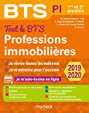 Tout le BTS Professions immobilières - 2019-2020 - 1re et 2e années