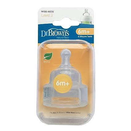 Dr Brown s opciones tetinas (nivel 3)