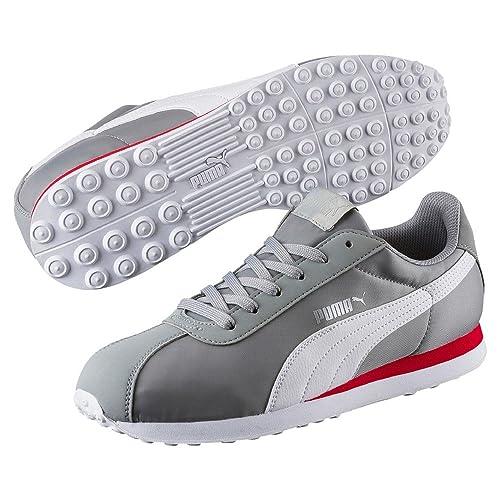 Puma Turin NL chaussures de sport basses homme Noir Blanc
