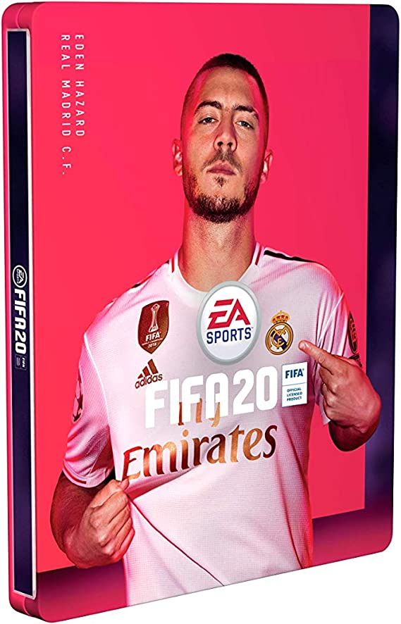 FIFA 20 - Steelbook for Champions Edition - (excl. to Amazon.co.uk) - [No Game Included] [Importación inglesa]: Amazon.es: Videojuegos