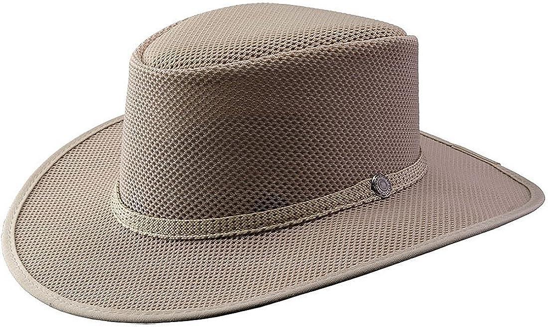 Head 'N Home Handmade Hats - SolAir Brand Cabana Ivory Breathable Mesh Sun Hat