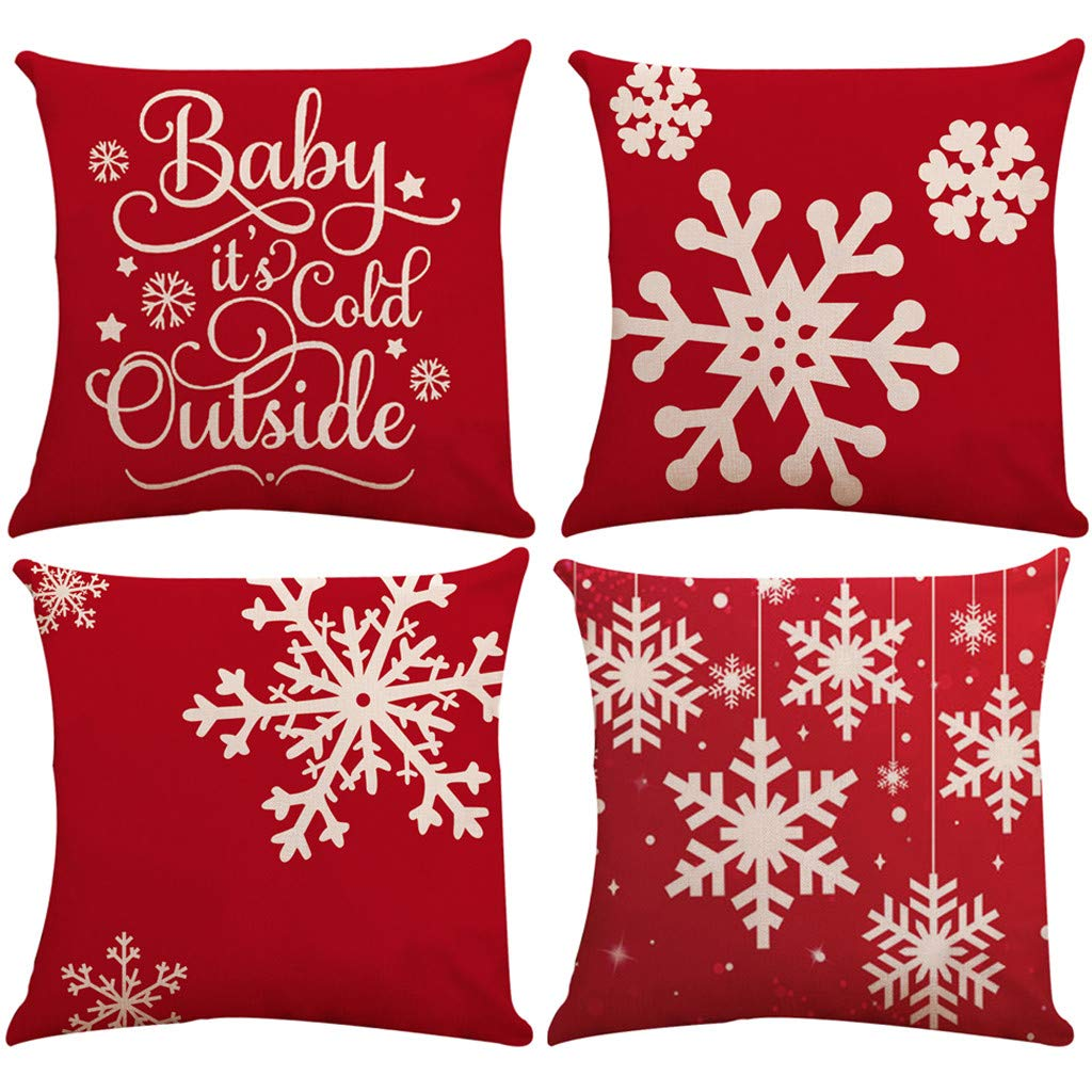 edealing Merry Christmas Throw Pillow