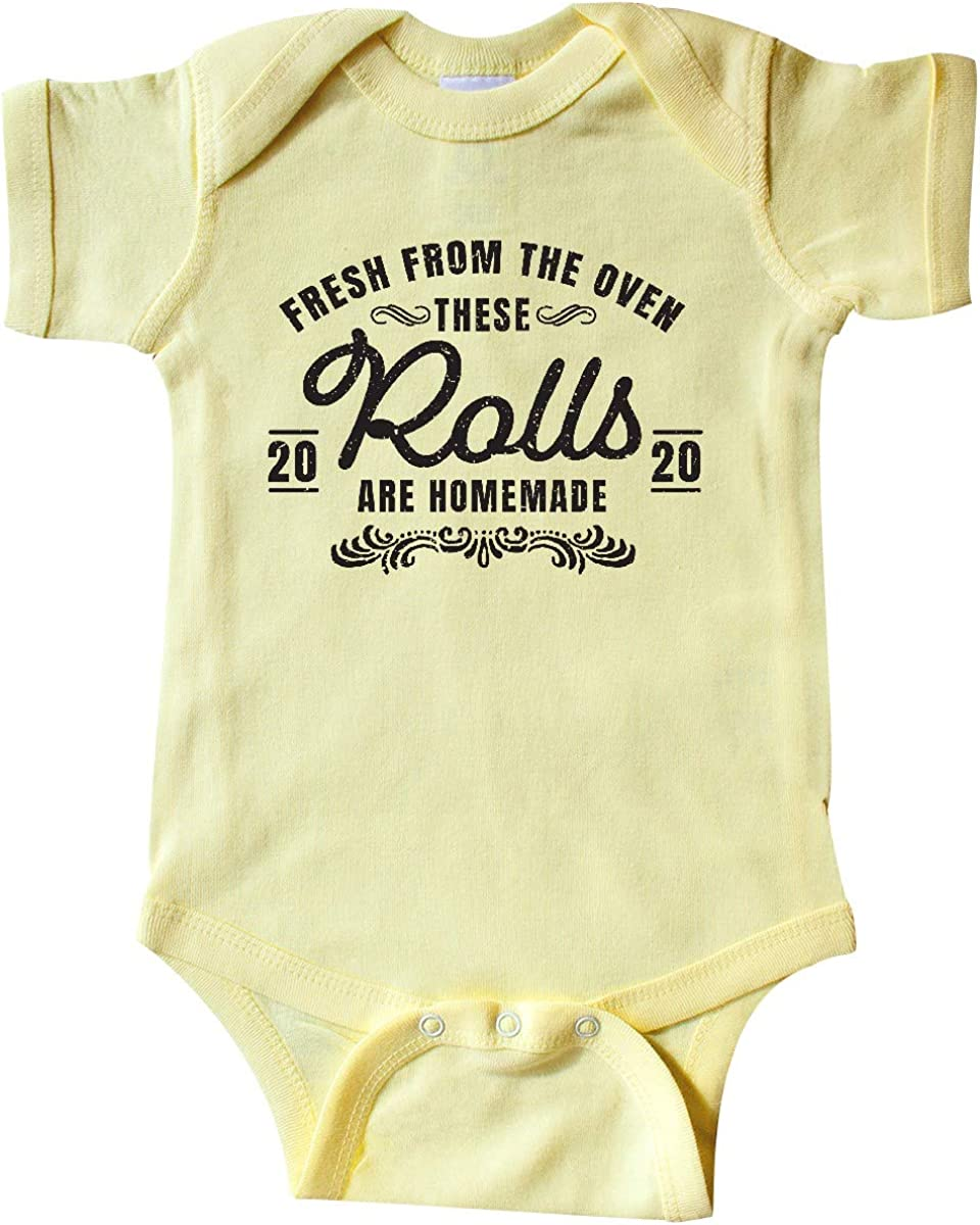 inktastic Fresh from The Oven These Rolls are Homemade 2020 Infant Creeper
