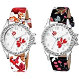 The Shopoholic Analogue Multicolor Dial Women's Combo Watch-(S-330-332)