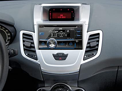 Acv 381114 21 2 Doppel 2 Din Radioblende Silber Auto