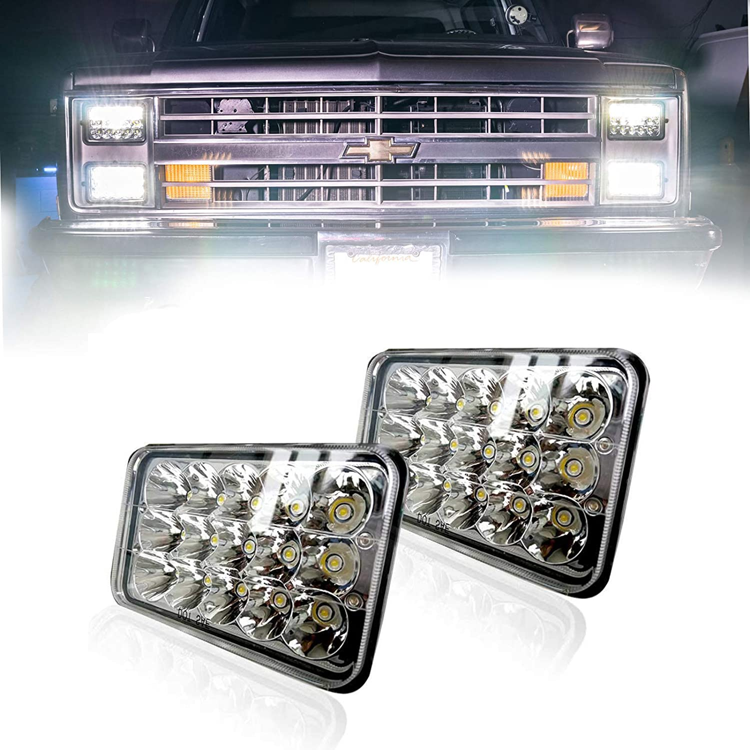 1991 chevy 1500 led headlights