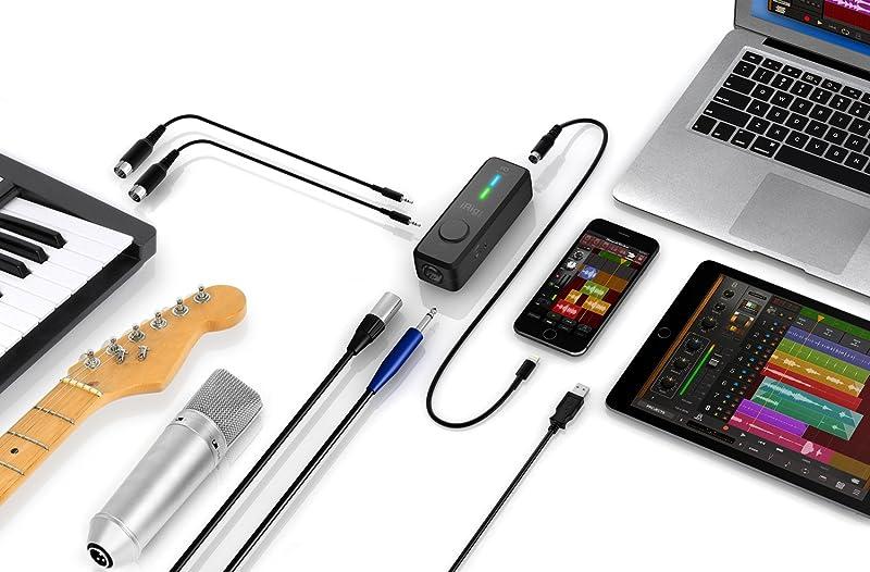 iRig Pro I/O:接続可能な機材