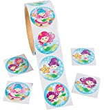 Mermaid Stickers - 100 pc. Assorted styles
