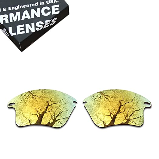 834635eb6c Image Unavailable. Image not available for. Color  ToughAsNails Polarized  Lens Replacement for Oakley Fast Jacket XL ...
