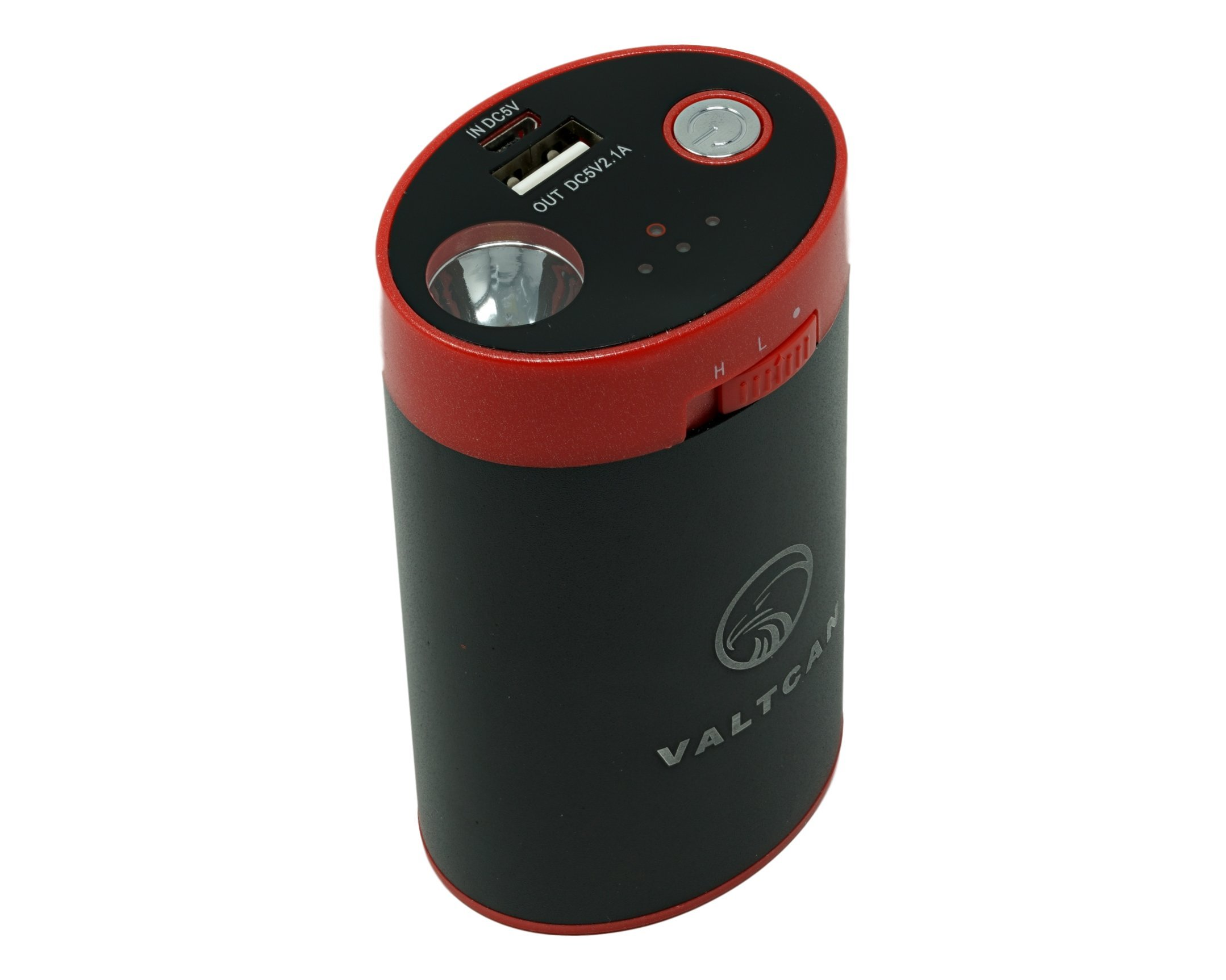 Valtcan Hunting Hand Warmer Apple iphone iPad Mobile device Charger and LED Light with 8800mAH Power Capacity and 3 Heat Settings