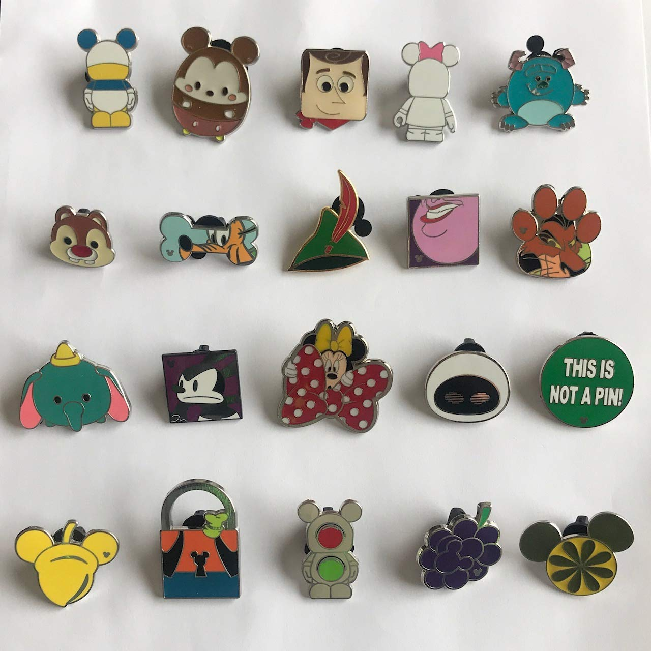 Fall Special – Disney Trading Pin Lapel Lot of (20) Pins – Authentic NO Doubles Fast Shipping