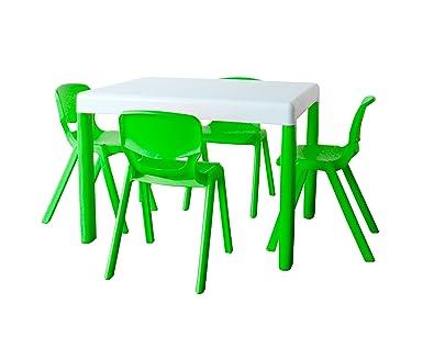 Scrivania Per Bambini 2 Anni : Ergos pkergos confezione tavolo e sedie bambino anni