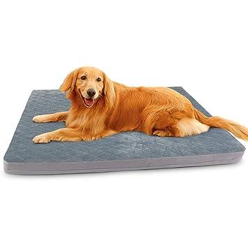 Amazon.com: Cama grande para perros, cama para mascotas ...