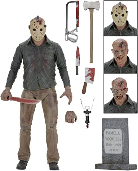 Friday the 13th Jason Voorhees Ultimate 7 inch Action figure Final