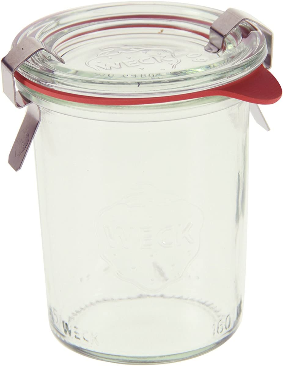 Weck 760 Mini Mold Jar, 5.4 Ounce - 12 Jars