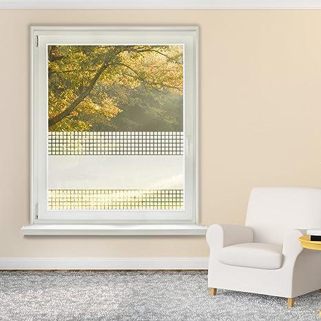 Fensterfolie - Adhesivo decorativo para ventana, diseño de cuadros ...