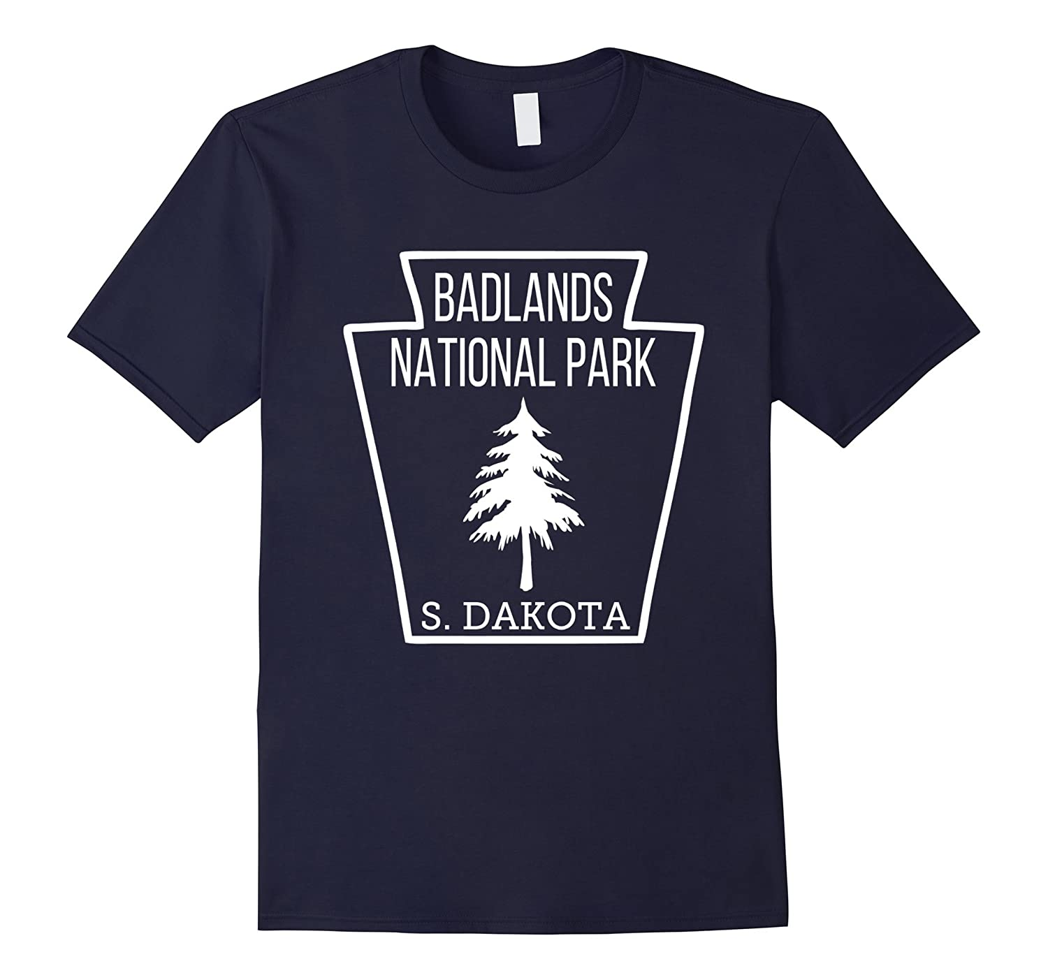 Badlands National Park T Shirt South Dakota Emblem-Vaci