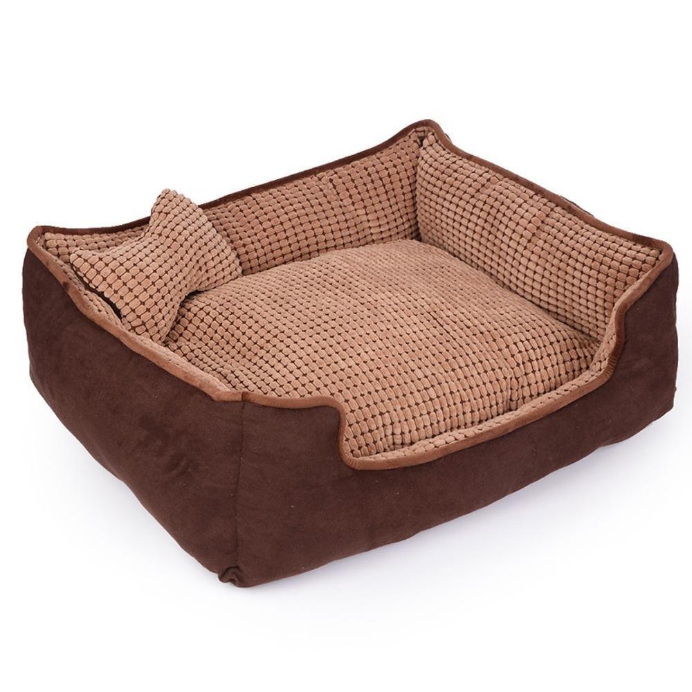 958522cm Dixinla Pet Bed PP Cotton Washable pet nest cat Litter Kennel