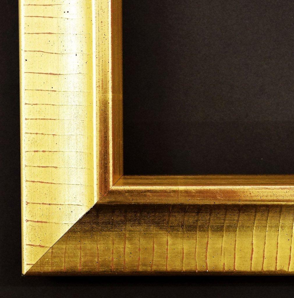 Spiegel Wandspiegel Badspiegel Flurspiegel Garderobenspiegel - Über 200 Größen - Kronach antik Echt - gold, handgrundiert 4,3 - Außenmaß des Spiegels 100 x 140 - Über 100 Größen zur Auswahl - Wunschmaße auf Anfrage - Modern, Antik