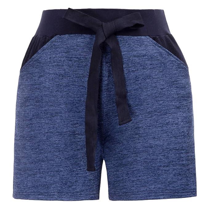 Womens Comfy Lounge Hot Pant Yoga Shorts Short Sweatpants
