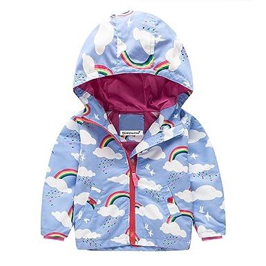 172573426 Amazon.com  Beautymade Kids Windbreaker Girls Jackets Coat Girls ...