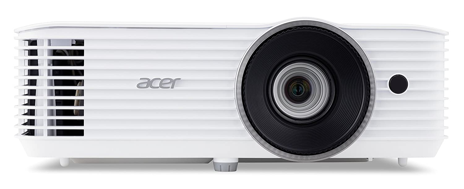 Acer X1623H Video - Proyector (3500 lú menes ANSI, DLP, WUXGA (1920x1200), 10000:1, 16:10, 685,8 - 7620 mm (27 - 300')) 8 - 7620 mm (27 - 300)) MR.JQ111.001