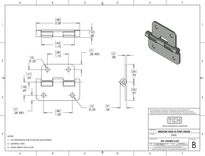 3-1//4x6-27//32 x2-1//4 Finish Hickory Hardware HH075774-ABZ 2-5//8Wx5-11//16 Hx1 D-Grade 2 Aged Bronze Key Pad Electronic Keypad Deadbolt