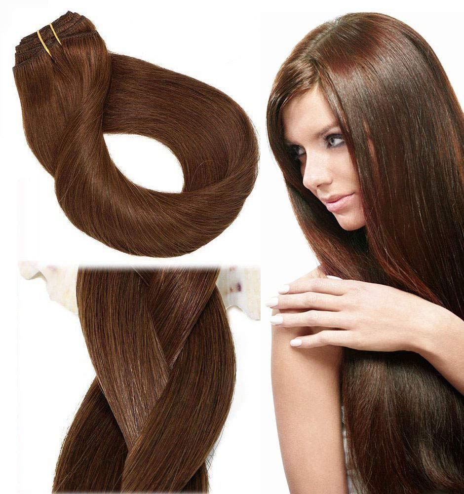 Amazon Clip In Hair Extensions Human Hair New Version