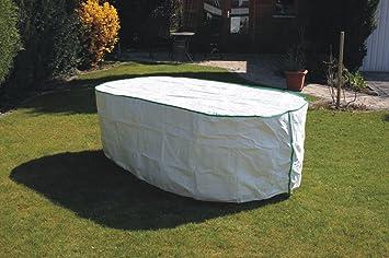 Gartentisch Abdeckung Oval.Amazon De Kley Partner Gartentisch Abdeckung Oval Exklusiv