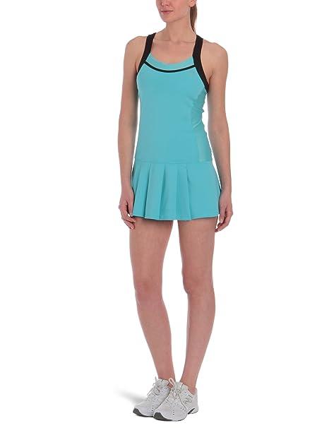 K-Swiss - Vestido de pádel para Mujer, tamaño M, Color Capri/Noir: Amazon.es: Ropa y accesorios