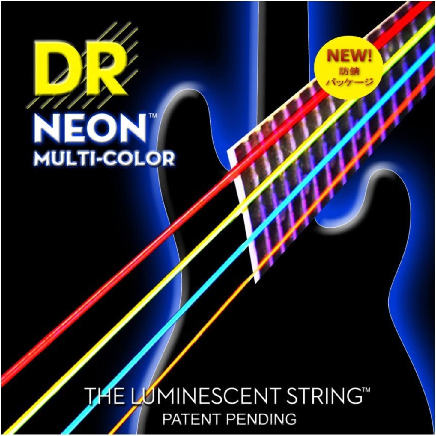 DR Strings HI-DEF NEON Bass Guitar Strings NMCB-45