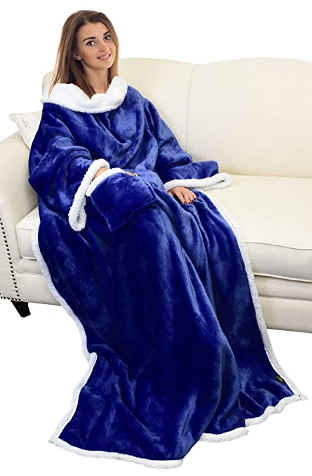 df1b9ca40d Catalonia Platinum Blanket with Sleeves