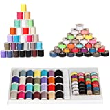 NEX XMS133  60 Piece Sewing Thread Kit For Sewing Machine, Mixed Colors (SK02)