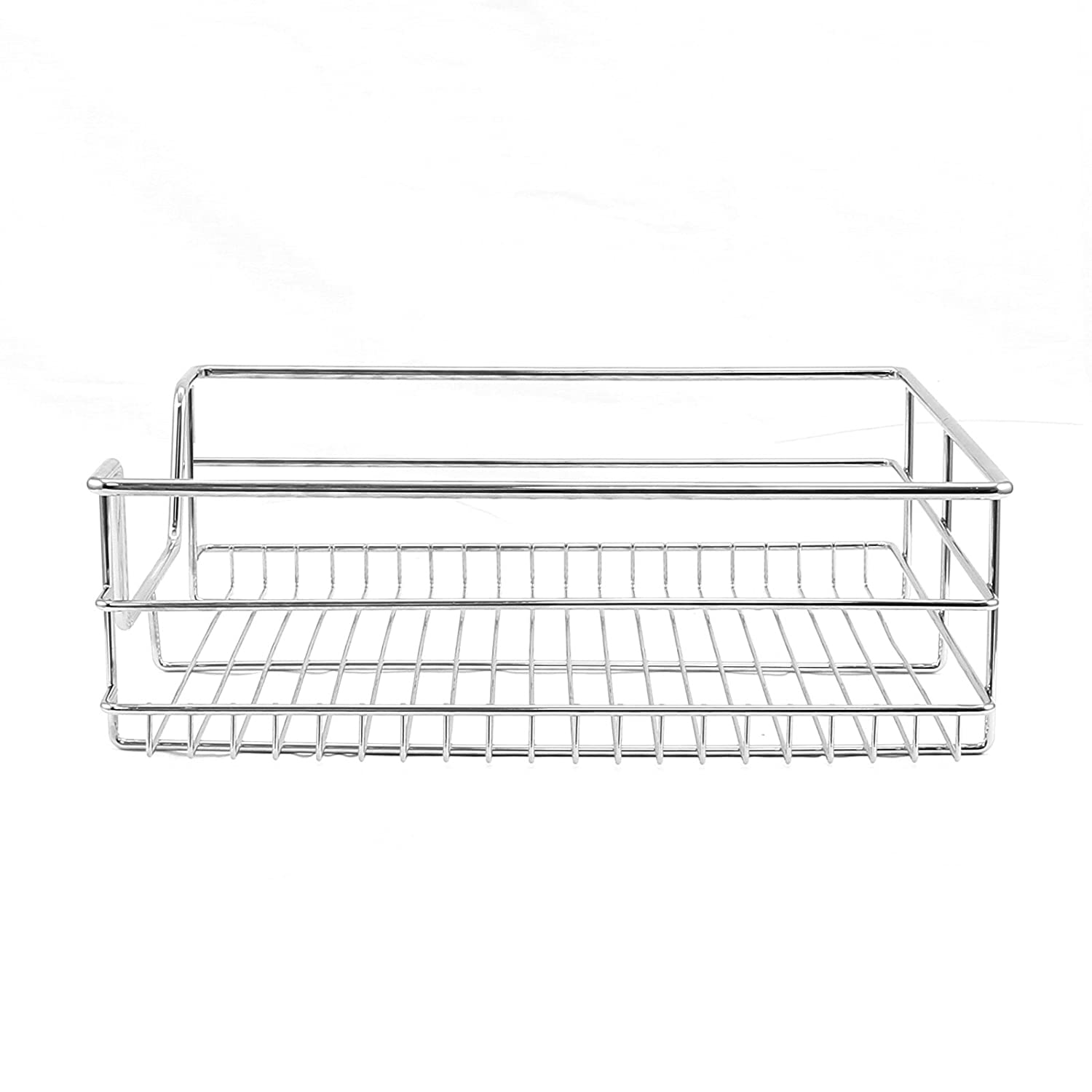 KuKoo 3 x Kitchen Pull Out Soft Close Baskets, 600mm Wide Cabinet ...