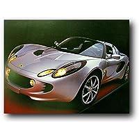 Lotus Elise Ron Kimball Cool Sports Car Art Print Poster (16x20)