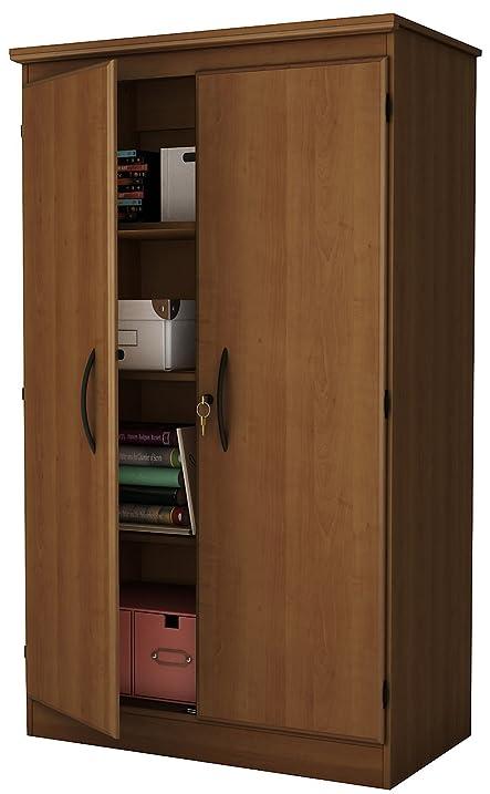 Amazon.com: South Shore Morgan Collection Storage Cabinet, Morgan ...