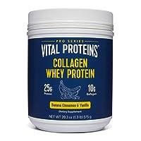 Vital Proteins Pasture-Raised, Grass-Fed Collagen Whey (Banana Cinnamon)