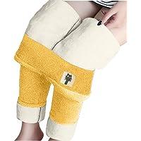 Zilosconcy Leggings Térmicos Pantalones Mujer Invierno, Leggings de Cintura Alta para Mujer, Elásticos Forrado de…