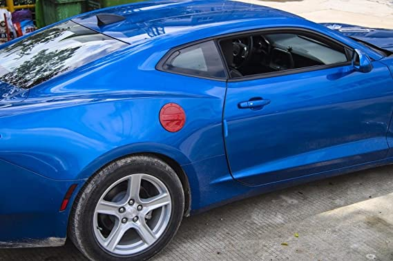 fmtoppeak 3 colores exterior cubierta de depósito de combustible Gas Tapa Cap Accesorios ABS para Chevrolet Camaro 2016 hasta: Amazon.es: Coche y moto