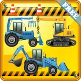 Digger Games for Kids and Toddlers : discover the world of excavators ! FREE game