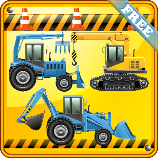 Bobcat Excavators (Digger Games for Kids and Toddlers : discover the world of excavators ! FREE game)