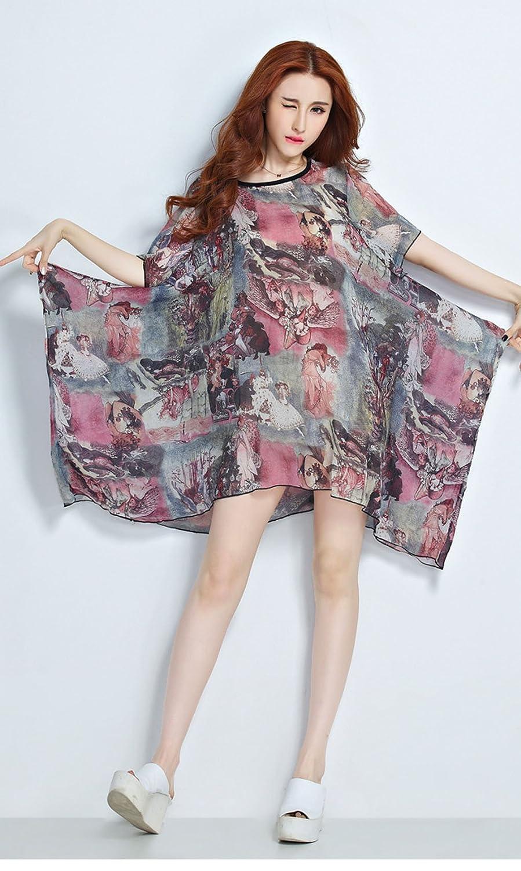 Vogue of Eden - Camisas - corte imperio - para mujer Multicolor negro Talla única: Amazon.es: Ropa y accesorios