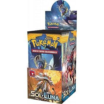 Pokemon Sol y Luna (Caja de 18 sobres en Castellano ...