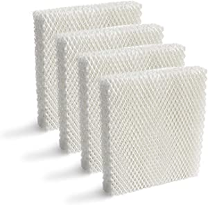 Lemige 4 Pack Humidifier Wicking HFT600 Filters T Compatible with Honeywell Tower Humidifier HEV615 HEV620, Compare to Part HFT600T HFT600PDQ