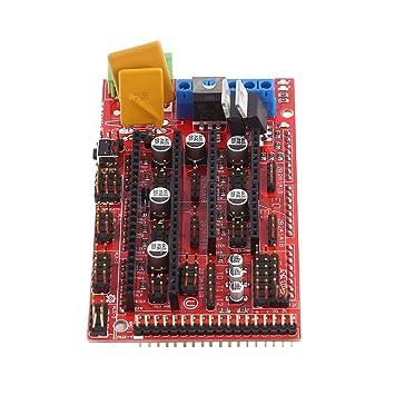 MagiDeal Kit de Controlador de Impresora 3D RAMPS 1,4 Controller ...