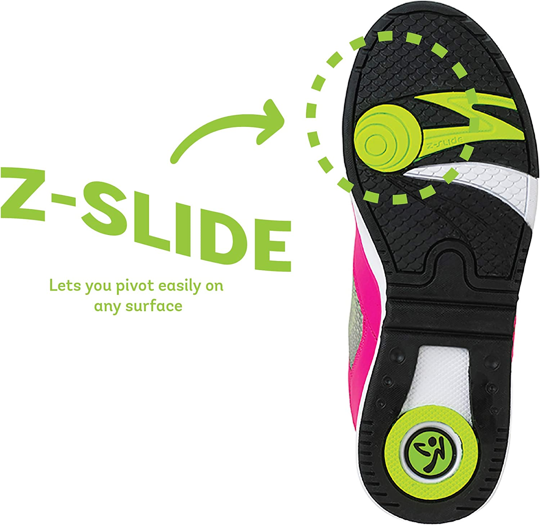 Zumba Aktiv Energy Boom High Top Sneakers Tanztraining Workout Tanzschuhe Damen Pink