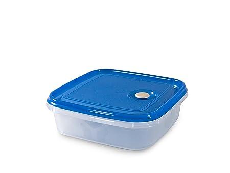 Carrefour 04172 Alrededor Caja 1.3L Azul, Transparente 1pieza(s ...